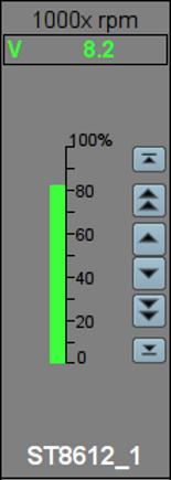Окно управления аналоговым параметром ручного ввода. (23Кб)