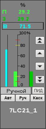 Окно управления аналоговым регулятором (13Кб)