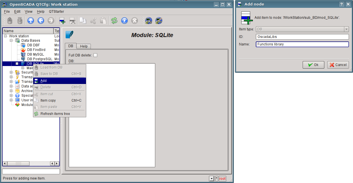 "Object DB ""SQLite"" add. (98Кб)"