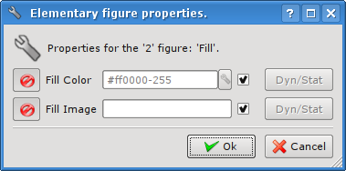 Elementary figure's properties dialog for the fill. (19 Кб)