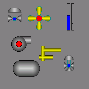 Realization of the basic elementary figures in Vision (10Кб)