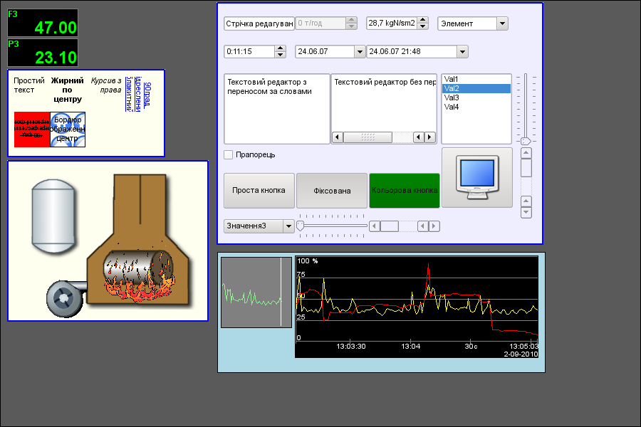 Тестова мнемосхема (64Кб)