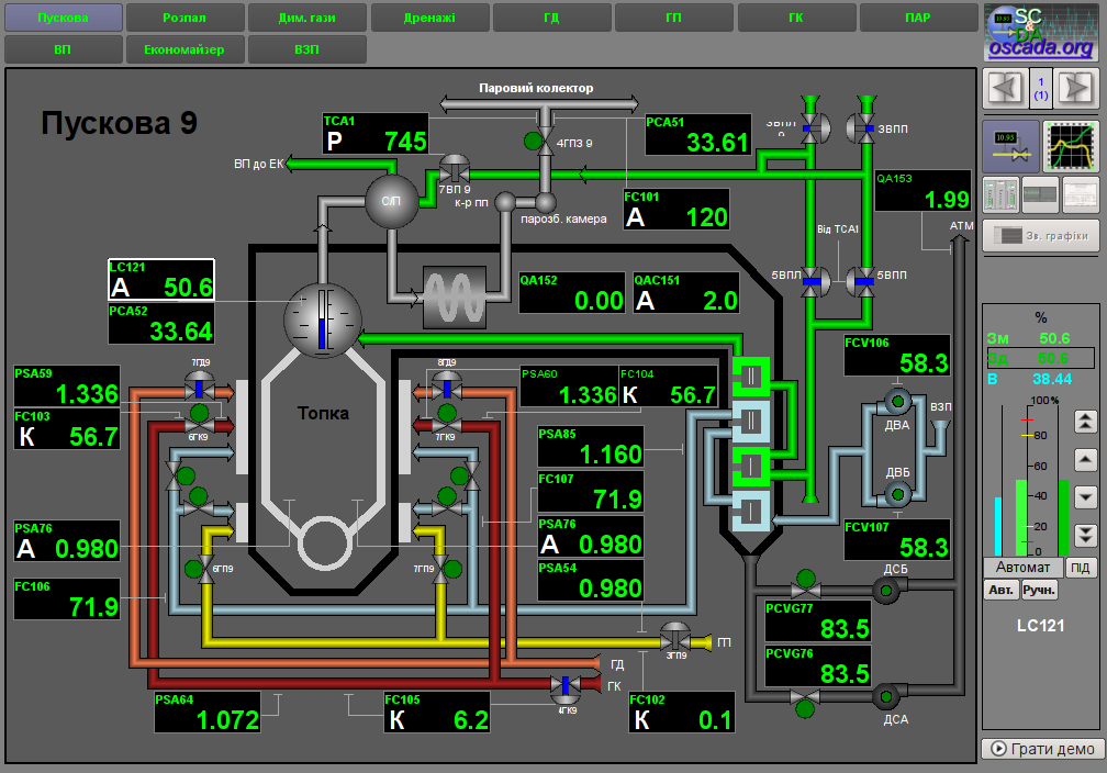 Загальний вигляд вікна інтерфейсу користувача. (129Кб)