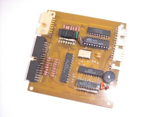 Опытный образец контроллера клавиатуры. (166Кб)