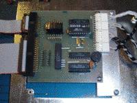 Фото контроллера клавиатуры (15Kb)