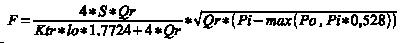 Универсальная формула расчёта расхода на всех скоростях. (5Кб)