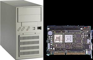 ПЛК PCA-6753F в системном блоке IPC-6608. (68Кб)
