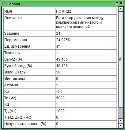 """Виджет """"Паспорт"""" в режиме исполнения - пример 1 (29Кб)"""