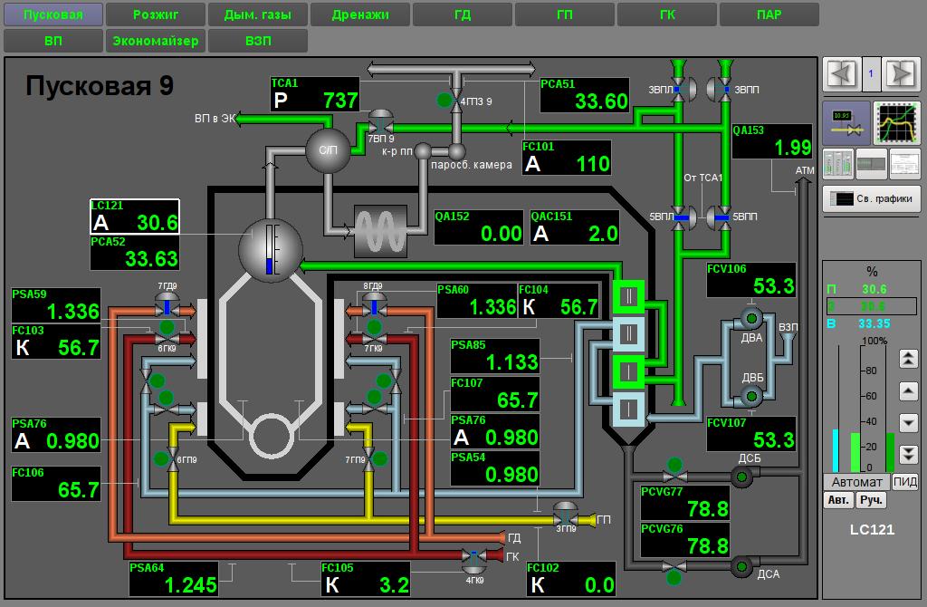 Общий вид окна интерфейса пользователя. (117Кб)